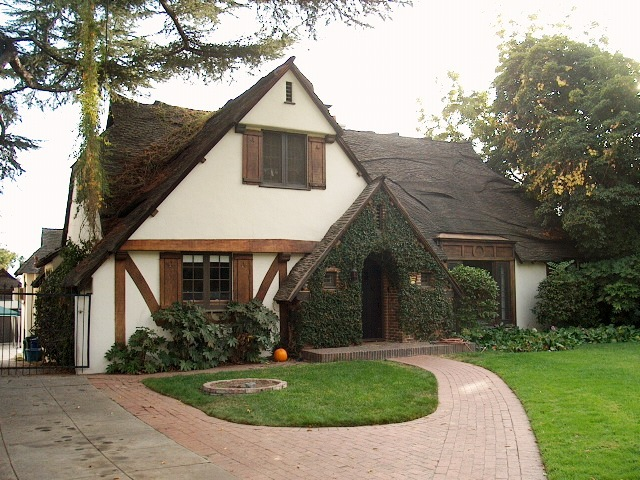 Front Left view of Camelot House